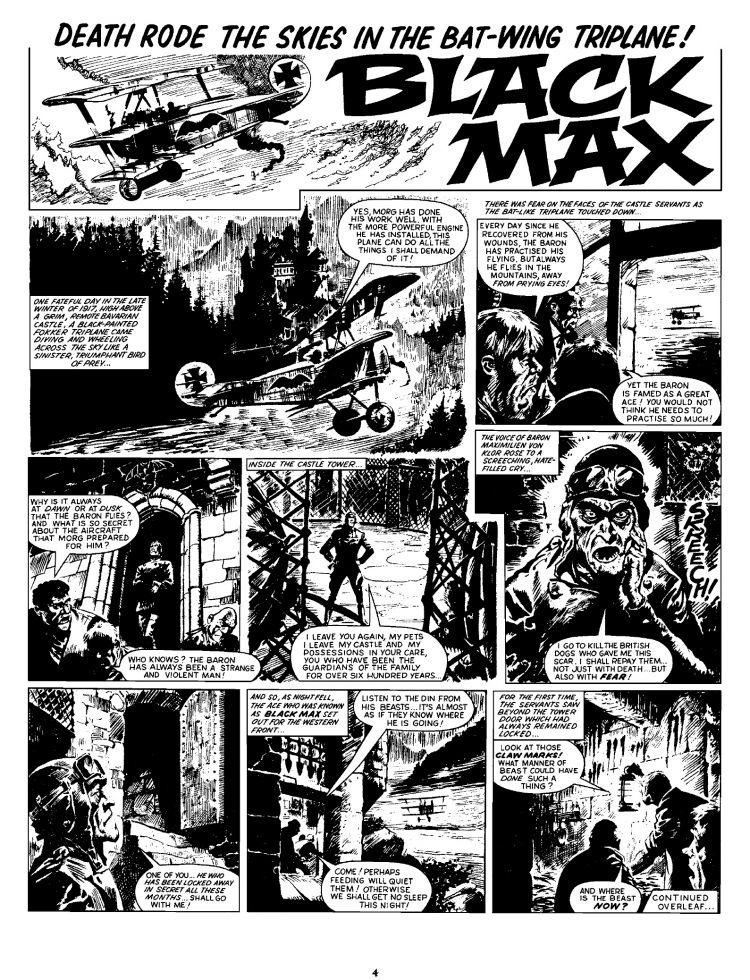 2000 AD Shop : Black Max - VOLUME 1 [Limited Edition Hardback]