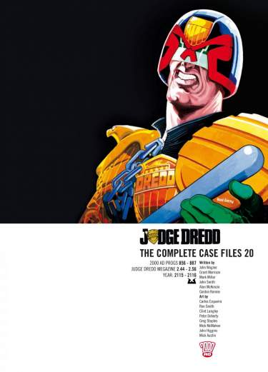 Judge Dredd: Case Files 20
