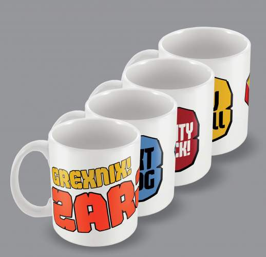 Mug Bundle - Set of four