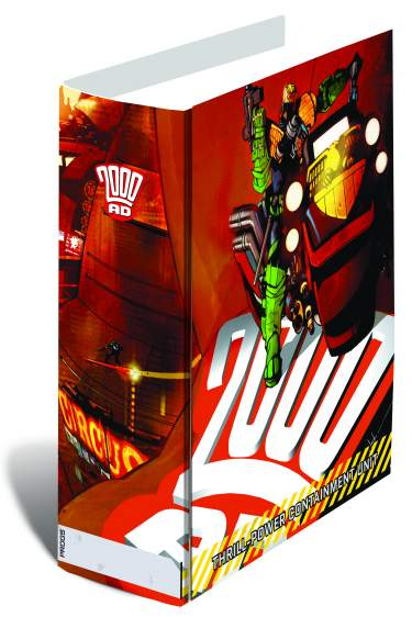2000 AD THRILL-CONTAINMENT BINDER, LTD EDITION (JOCK DESIGN)