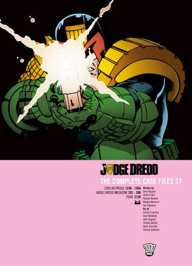 Judge Dredd: Case Files Vol. 37
