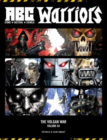 ABC Warriors: The Volgan War Vol. 04 [Hardback]