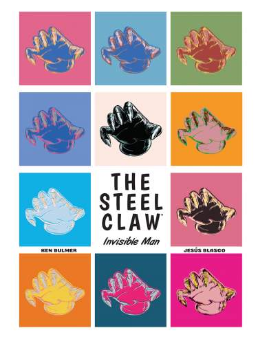 The Steel Claw: Invisible Man