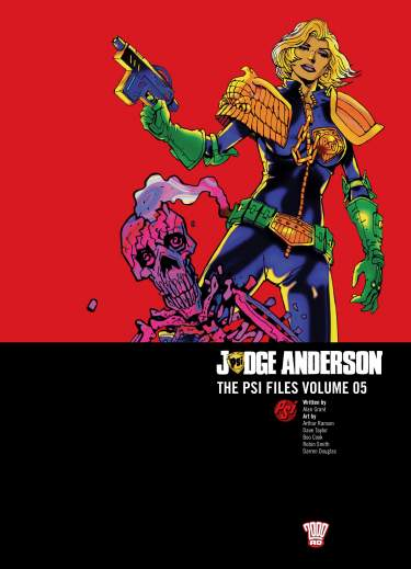 Judge Anderson: The Psi Files Volume 05