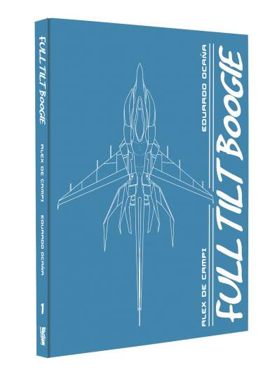 2000 AD Regened Presents : Full Tilt Boogie Webshop Exclusive Hardcover