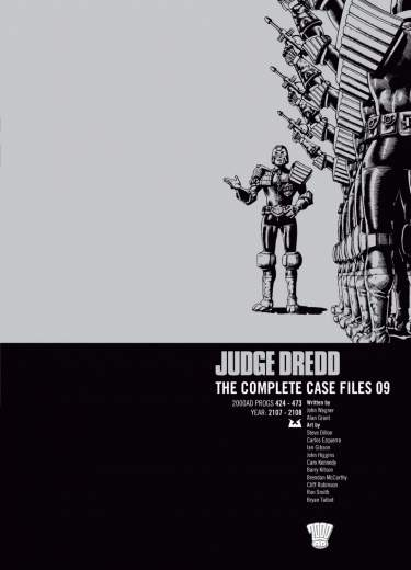 Judge Dredd: Case Files 09