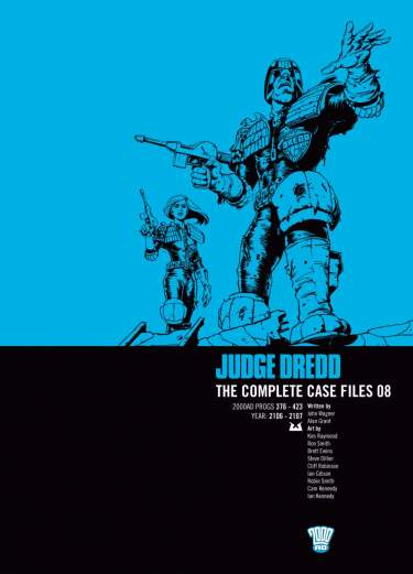Judge Dredd: Case Files 08