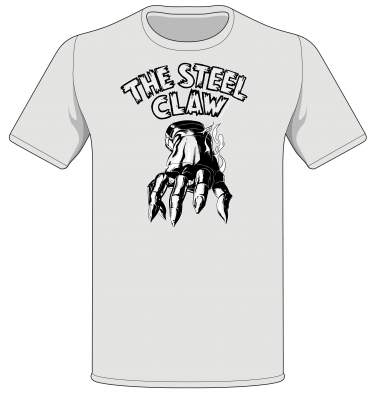 'The Steel Claw' T-shirt