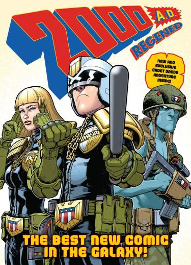 2000 AD Regened Collection Vol. 1